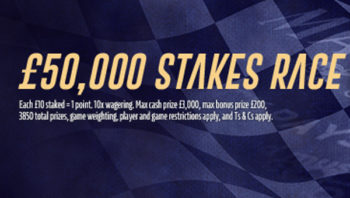 william hill £50,000 stakes race