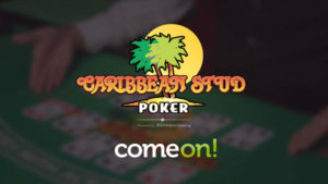 ComeOn adds Live Caribbean Stud Poker from Evolution Gaming