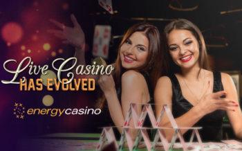 energy casino adds evolution