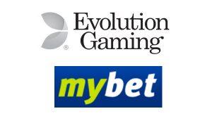 mybet adds evolution