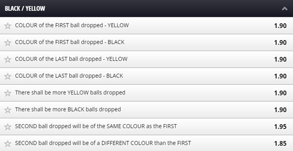 betgames lucky 7 black yellow