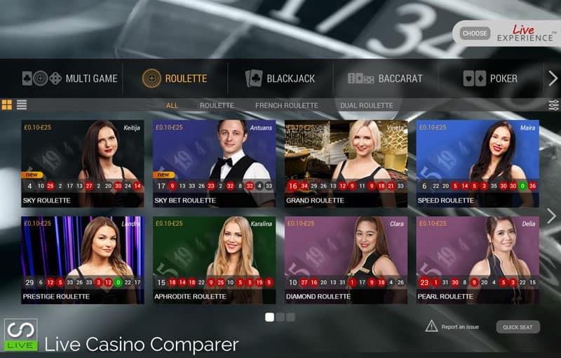 Sky Casino Lobby