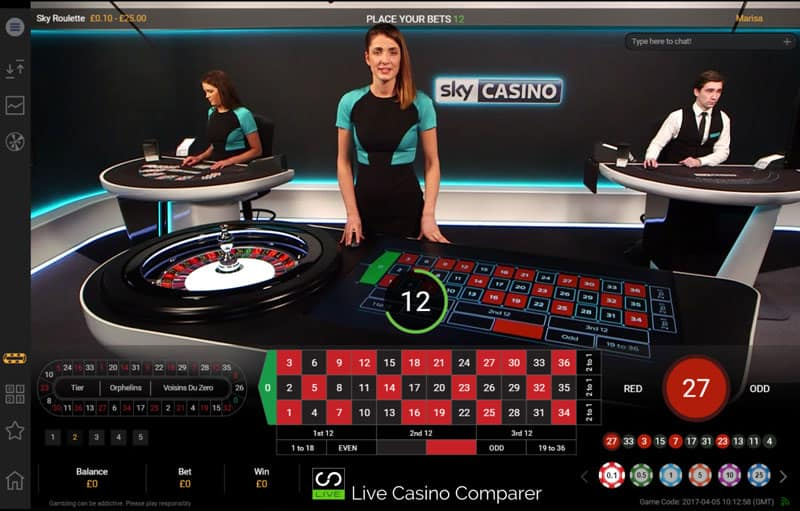 Sky Casino Dedicated Area