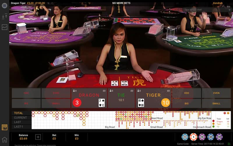 playtech launches live dragon tiger