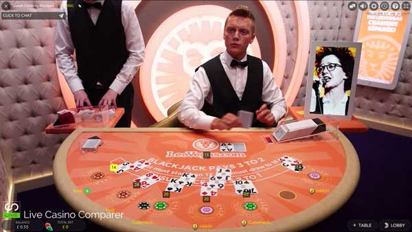dansk celebrity blackjack full screen