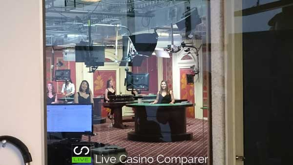 ezugi live casino review - glimpse of the studio