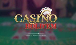 Live Casino Hold'em Progressive Jackpot