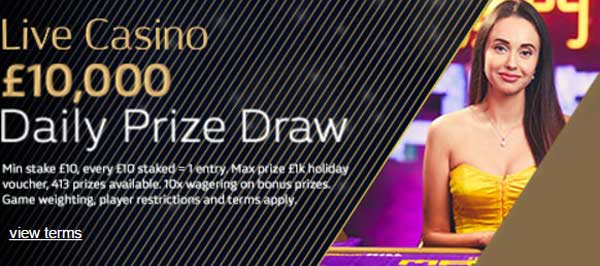 william hill daily prize draw