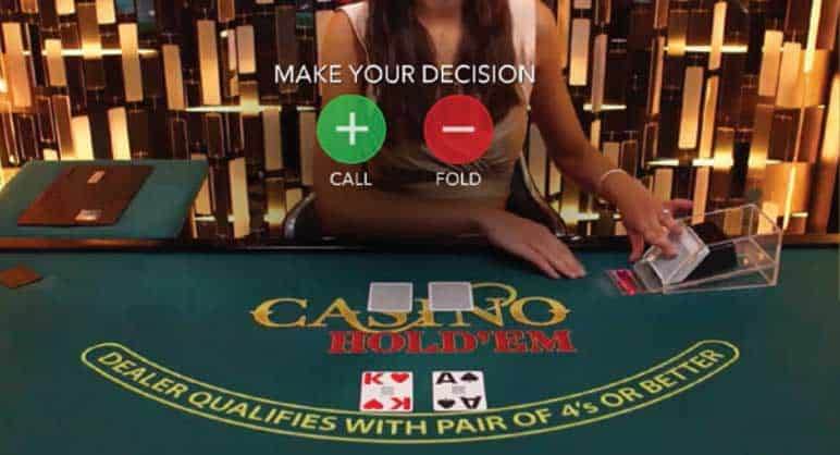 Pre-Decision on Casino Hold'em
