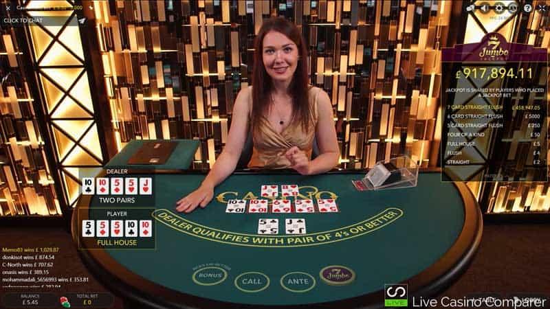 Evolution Live Casino Holdem Review A Live Casino Poker Game