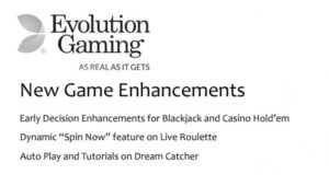 evolution adds speed enhancements