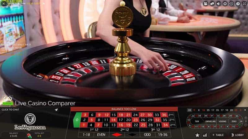 leo vegas immersive lite roulette