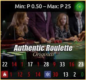 authentic original roulette