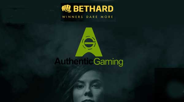 Bethard Group signs up with Authentic Gaming
