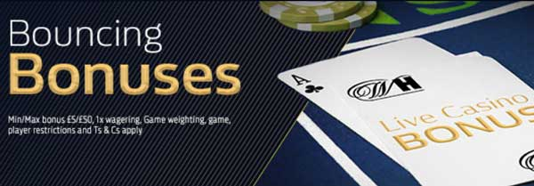 william hill bouncing bonuses