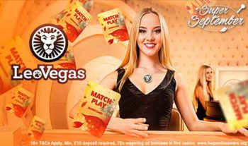leo vegas september promotions