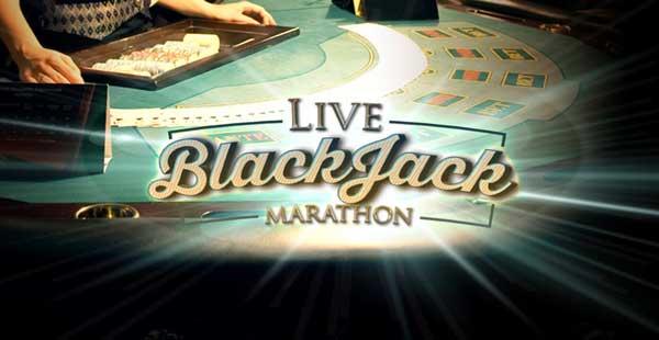 Live Blackjack Marathon