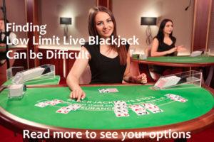 low limit live blackjack casinos
