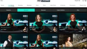 August Sky live casino promotions