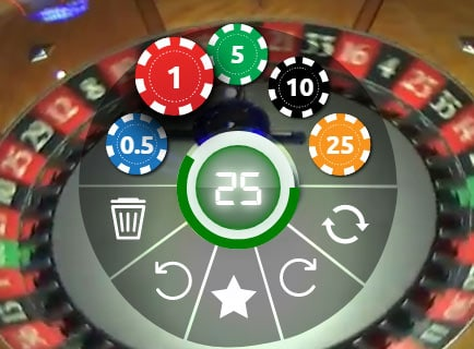 Authentic Double Wheel Roulette - betting Options
