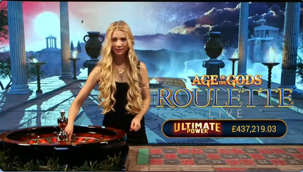 live age of the gods roulette