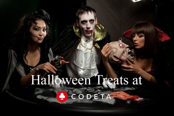 halloween treats at Codeta
