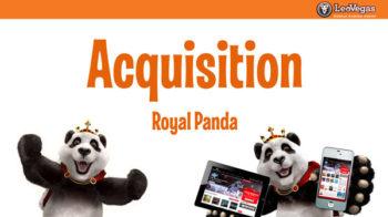 leo vegas buys royal panda