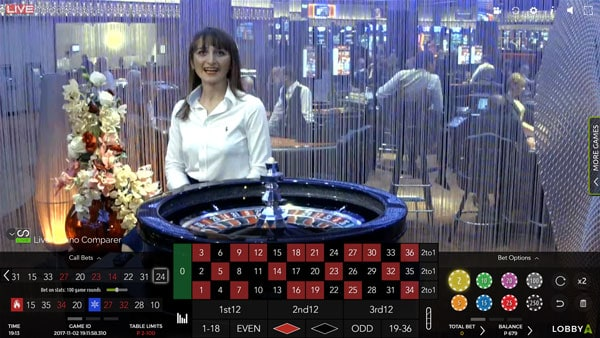Authentic Casino Floor roulette