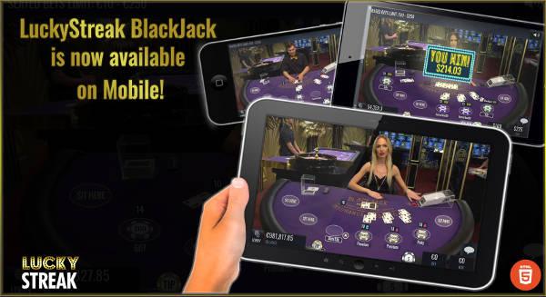 Lucky Streak Mobile Live Blackjack