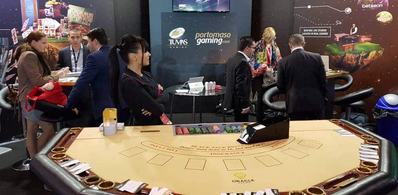 portomaso stand at sigma