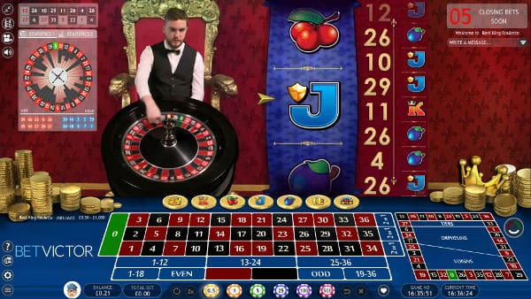 reel king roulette screenshot