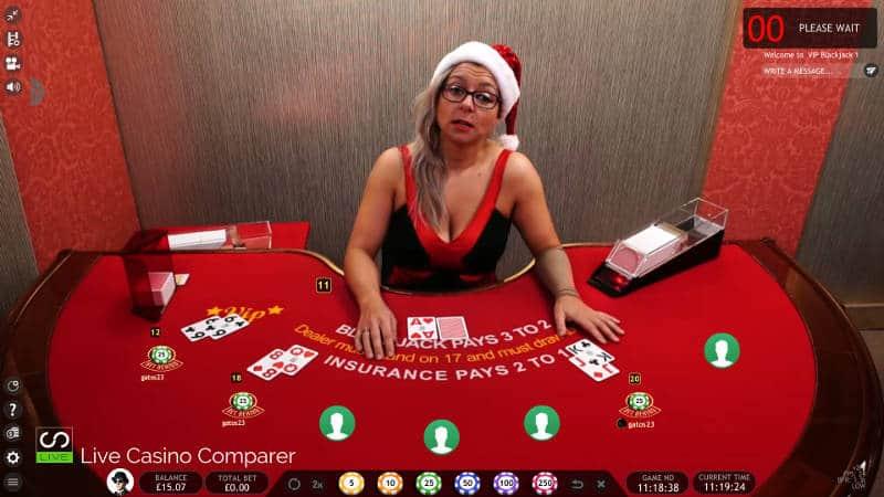 extreme christmas live casino
