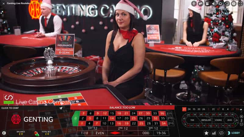 genting lchristmas live casino