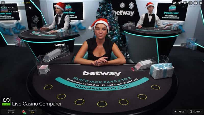 hippodrome christmas live casino
