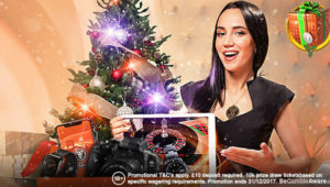 Leo Vegas Christmas Live Casino promotions