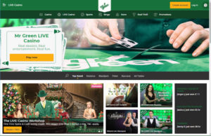 mr green live casino review