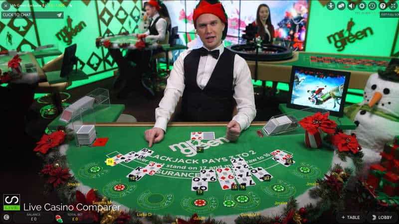 Mr Green   A Casino Playground Blackjack Roulette Slot