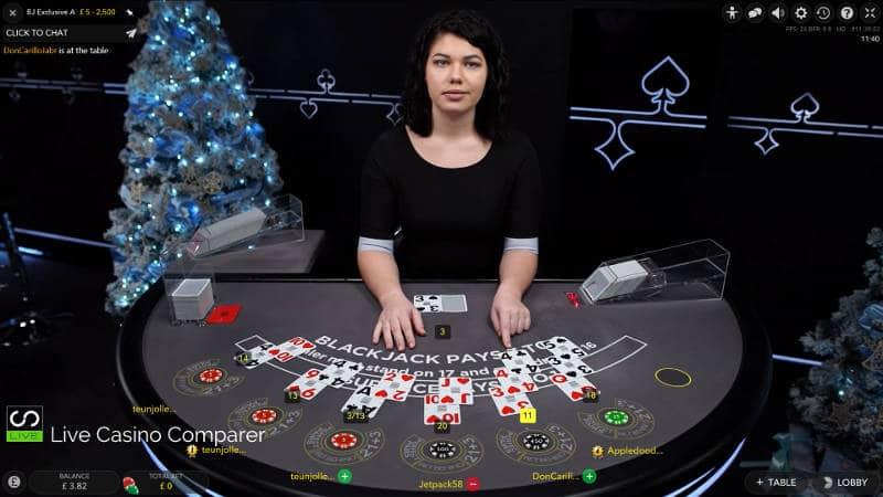 unibet christmas live casino