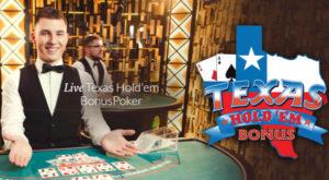 evolution launch live texas holdem bonus poker
