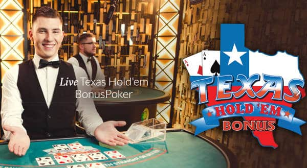 evolution launch live texas holdem bonus poker