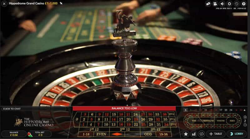 hippodrome grand casino roulette