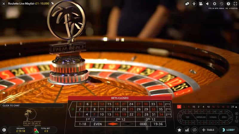 genting mayfair roulette