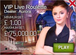 Netent VIP Live Roulette