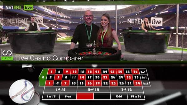 neil walker with Netent Roulette dealer