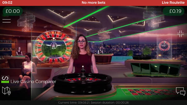 live beyond live roulette