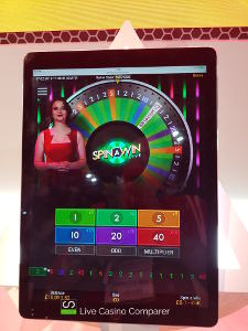 playtech spin and win