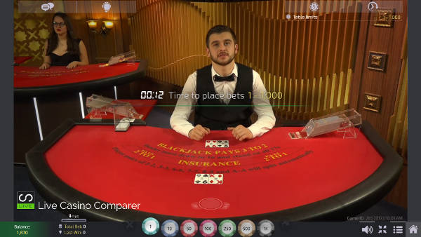 unlimited Blackjack with Auto splits - turkish