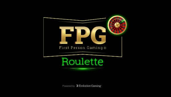 Evolution Gaming FPG Roulette Splash screen