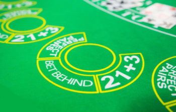 Live Blackjack side bet win