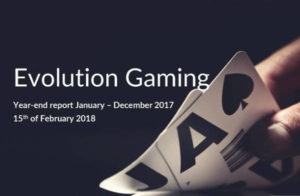 Evolution Year End Report 2017